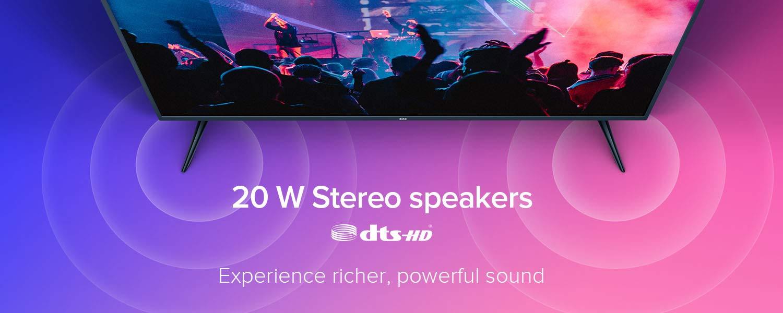 20 W Stereo Speakers