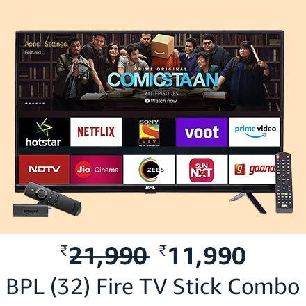 BPL Fire TV stick combo