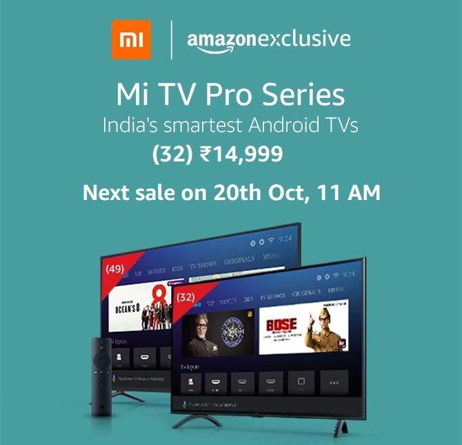 Mi TV Pro series