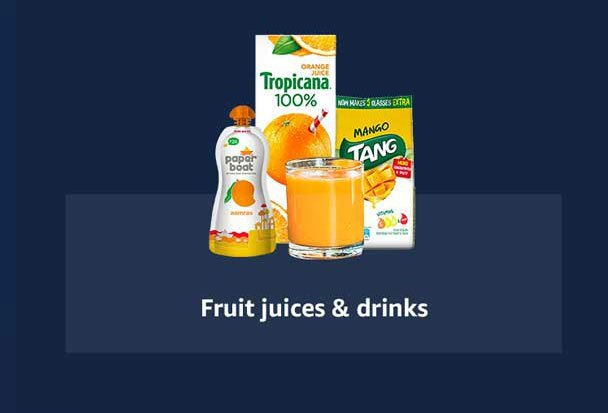 Fruit juices & drinks