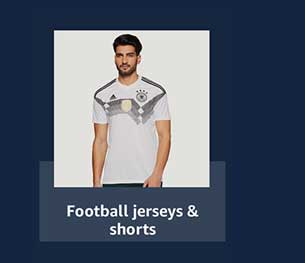 Football jerseys & shorts