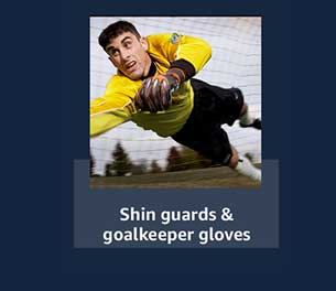 Shin guards & goalkeeper gloves
