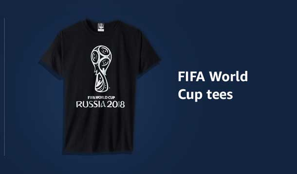 FIFA World Cup tees