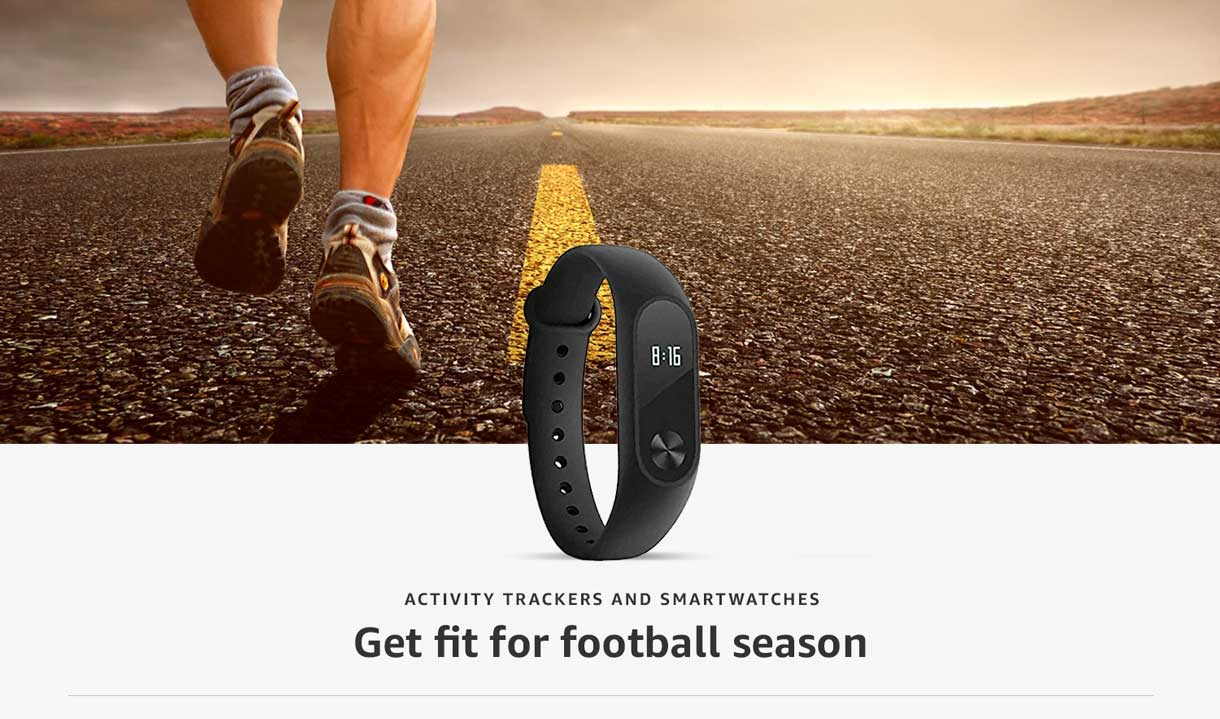 Activity trackers and smartwatches