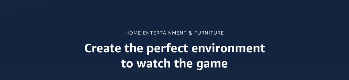 Home entertainment & furniture