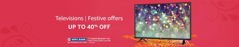 TVs Festive offers