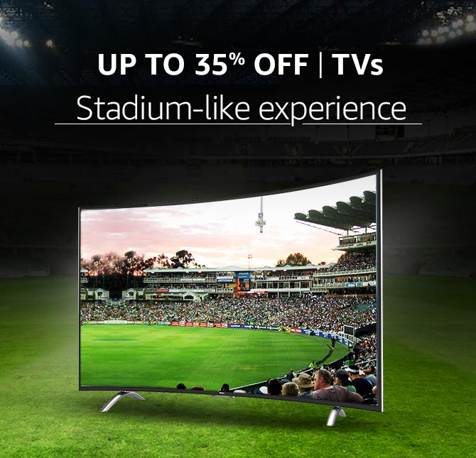 TVs with Stadium like experience