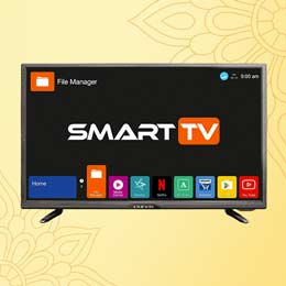 Kevin 81.3 Cm (32 Inches) HD Ready Smart LED TV