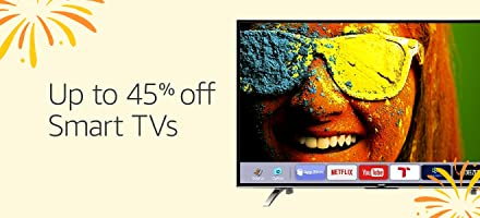 Up to 45% off | Smart TVs