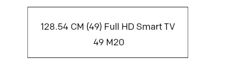 (49) Full HD Smart TV