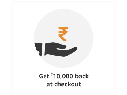 Get Rs.10,000 back at checkout