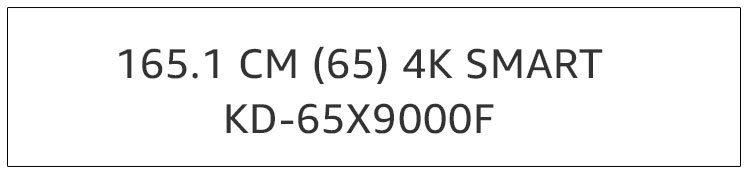 KD-65X9000F