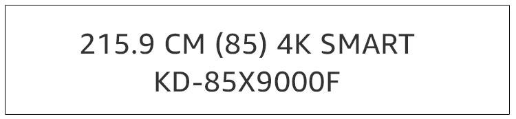 KD-85X9000F