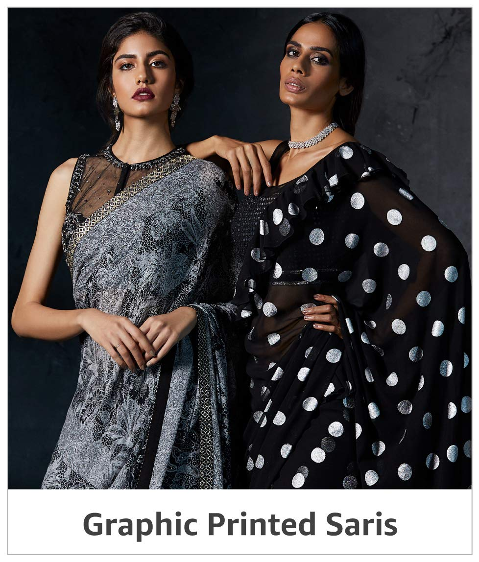 Graphic Printed Saris