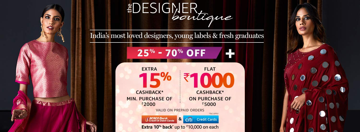 The Designer Boutique | India's largest curation of designer wear from fresh graduates, young labels & most loved designers.