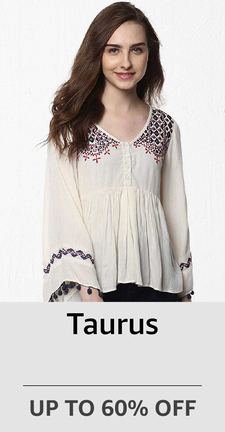 Taurus: Upto 60%Off
