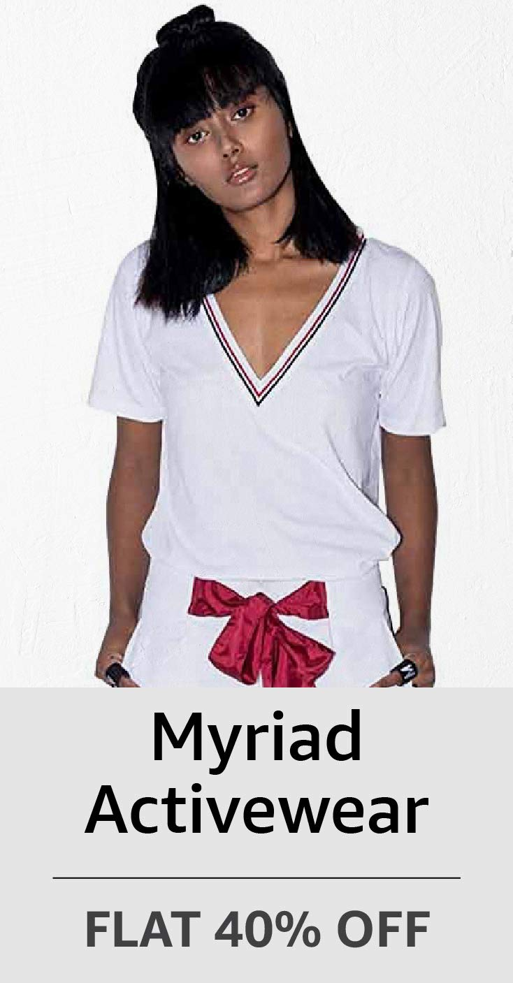 Myriad Activewear: Flat 40% Off