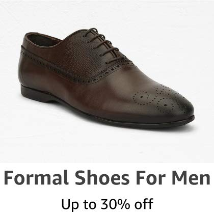 Formal Shoes for Men: Upto 30% off