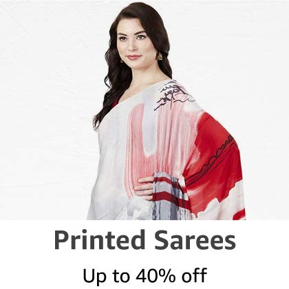 Printed Sarees: Upto 40% off