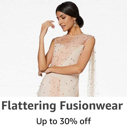 Flattering Fusion Wear: Upto 30% off