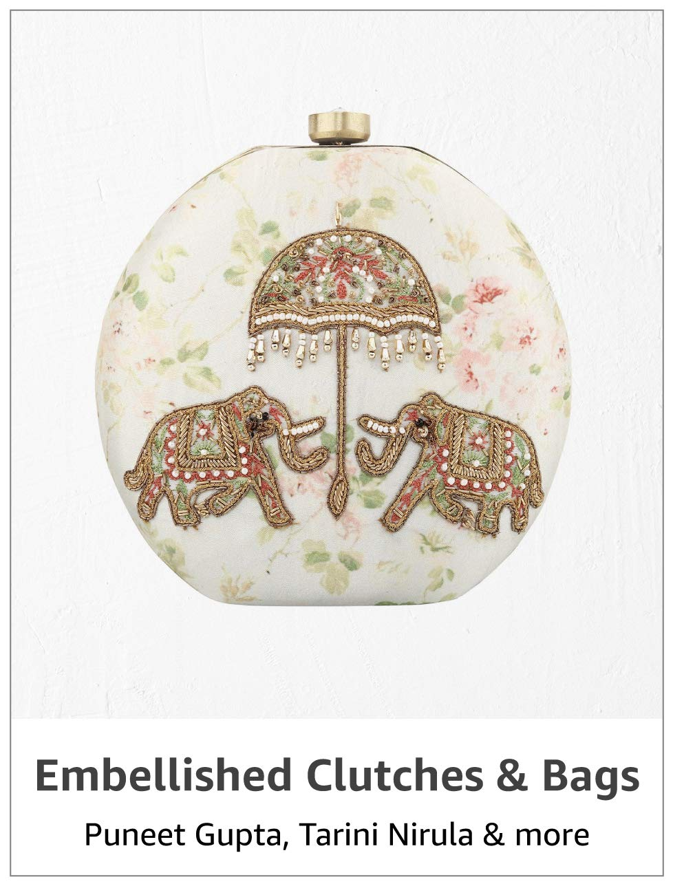 Embellished Clutches & Bags