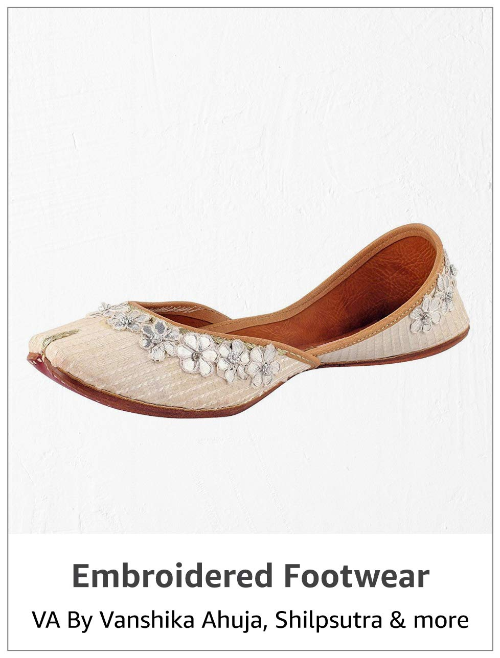 Embroidered Footwear