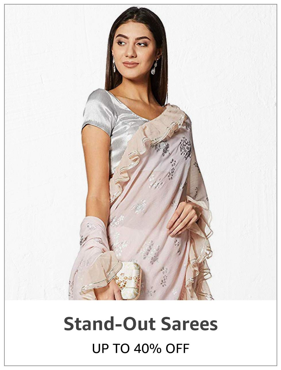 Stand-out Sarees: Upto 40% Off