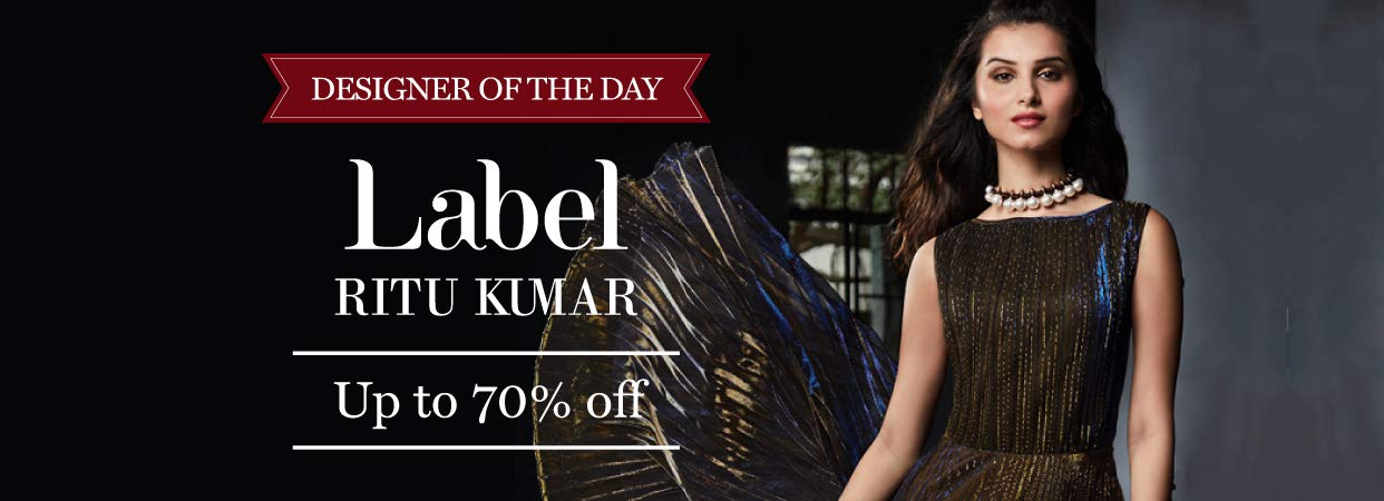 Label Ritu Kumar | Up to 70% Off