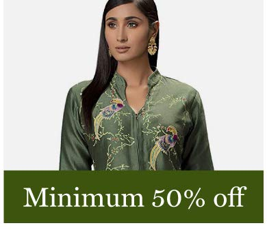 Minimum 50% Off