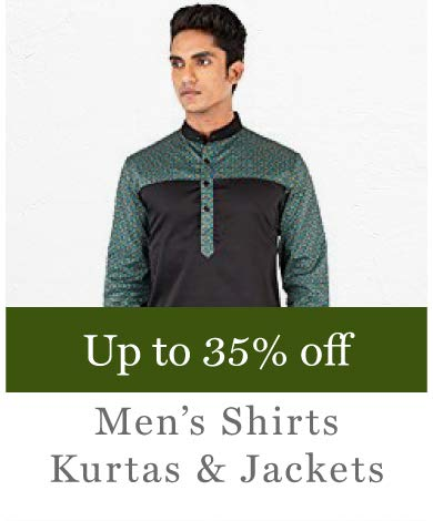 Men's Shirts, Jackets Kurtas