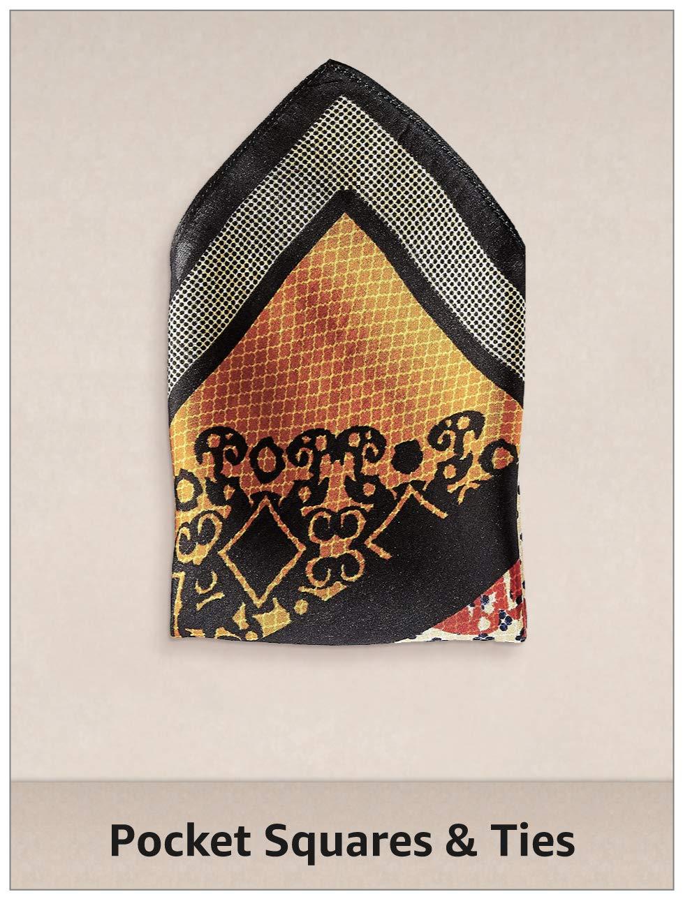 Pocket Squares & Ties