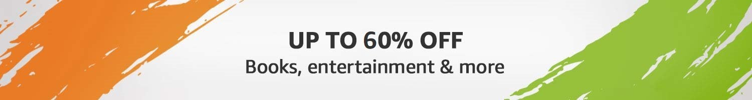 Books and entertainment up to Upto 70% off