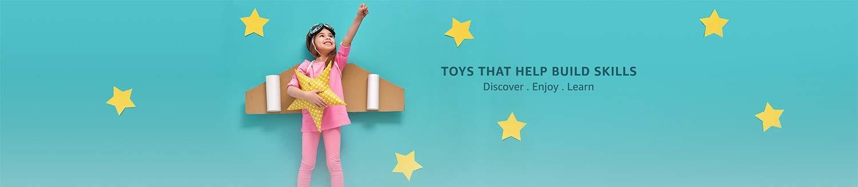 Toys that help build skills
