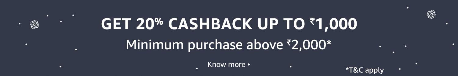 Cashback on HTL