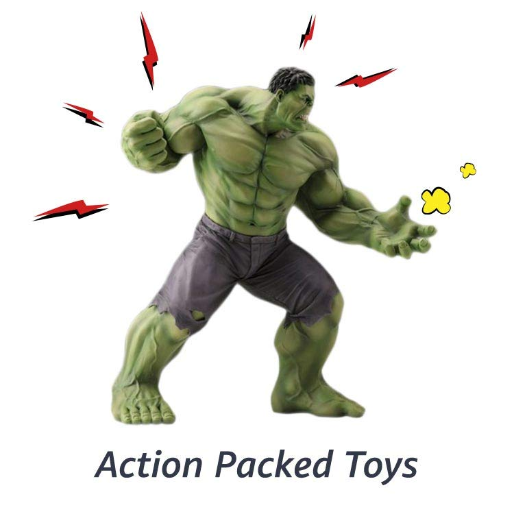 Action packed toys