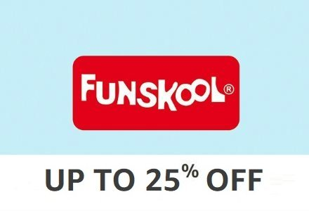 Funskool: 20% off or more