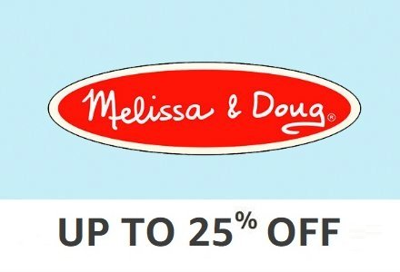 Melissa & Doug: 35% off or more