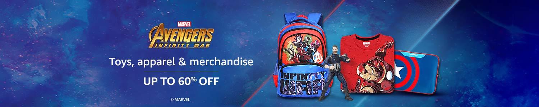 Infinity wars merchandise: Up to 60% off