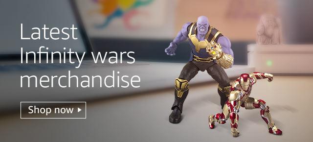 Latest infinity wars merchandise