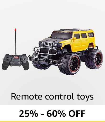 Up to 60% off: Remote controlled toys