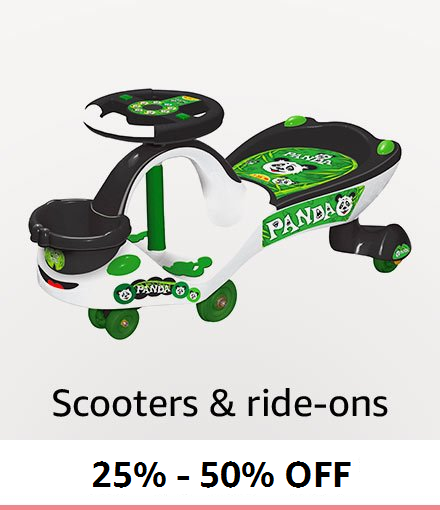 Scooters and rideons