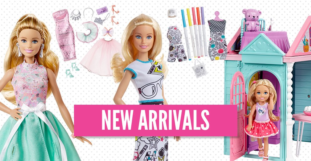 Barbie New launches