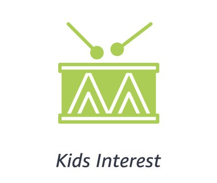 Kids interest