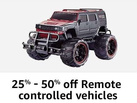 Remote controlled vehicles