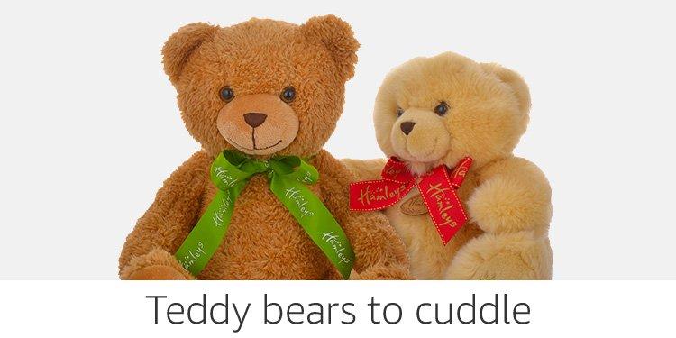 Teddy bears to cuddle