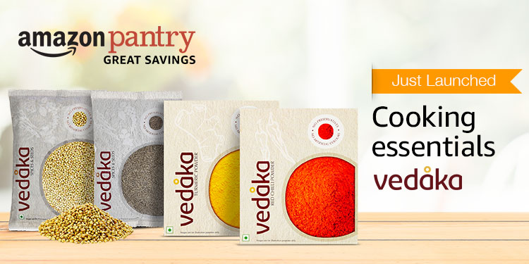 Just launched: Vedaka cooking essentials