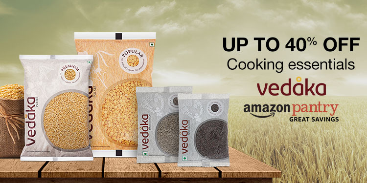 Up to 40% off: Cooking essentials from Vedaka