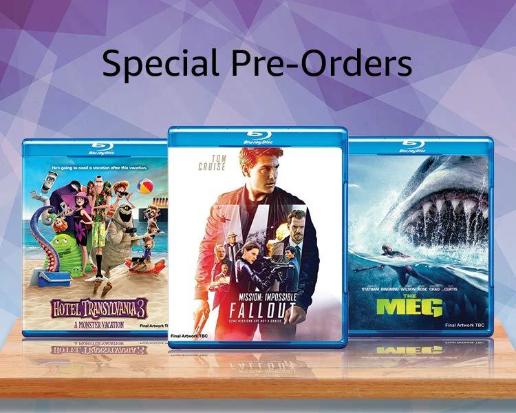 Special pre orders