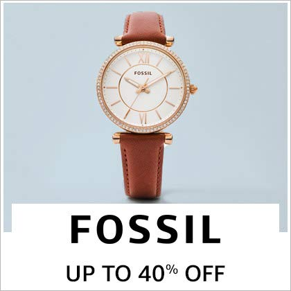 Fossil: Up to 40%