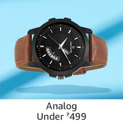 Analog Under Rs 499
